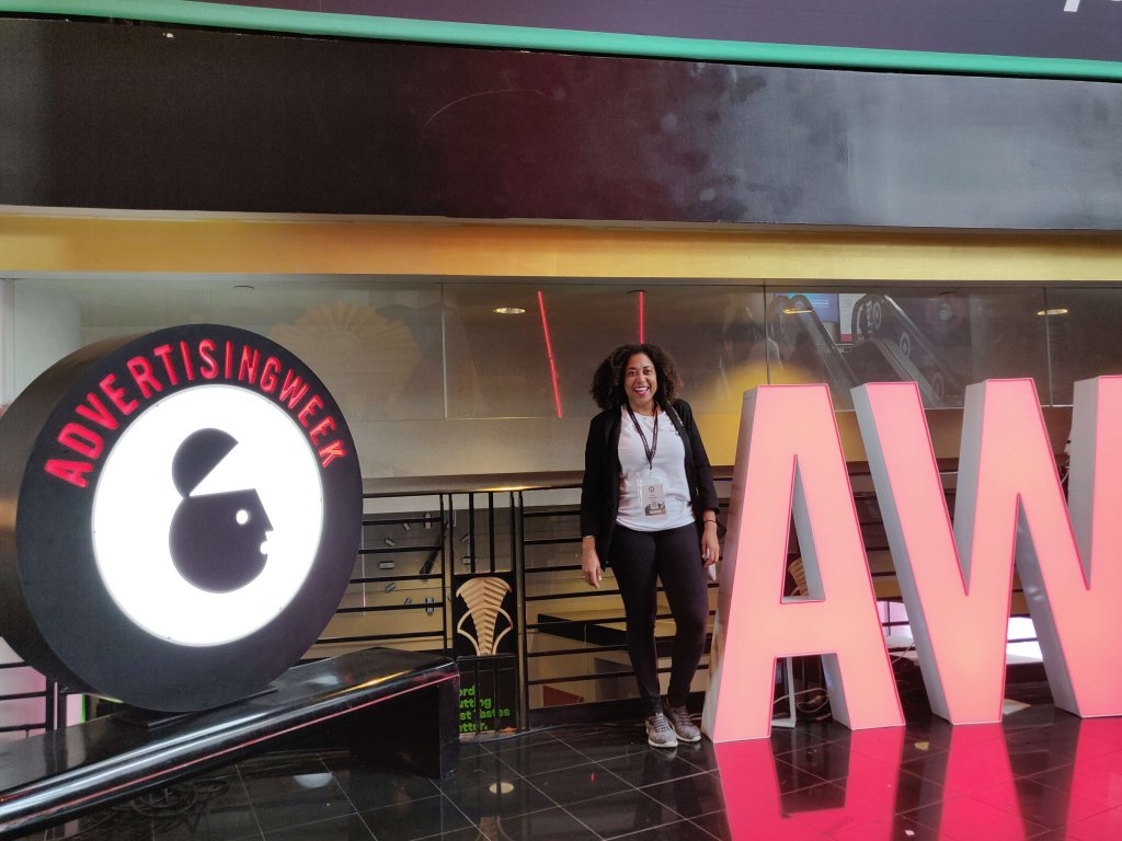 Picture of Evita Sanches during Advertising Week